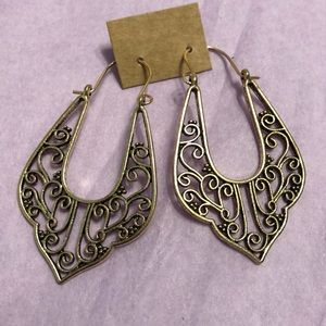Beautiful Metal Earrings